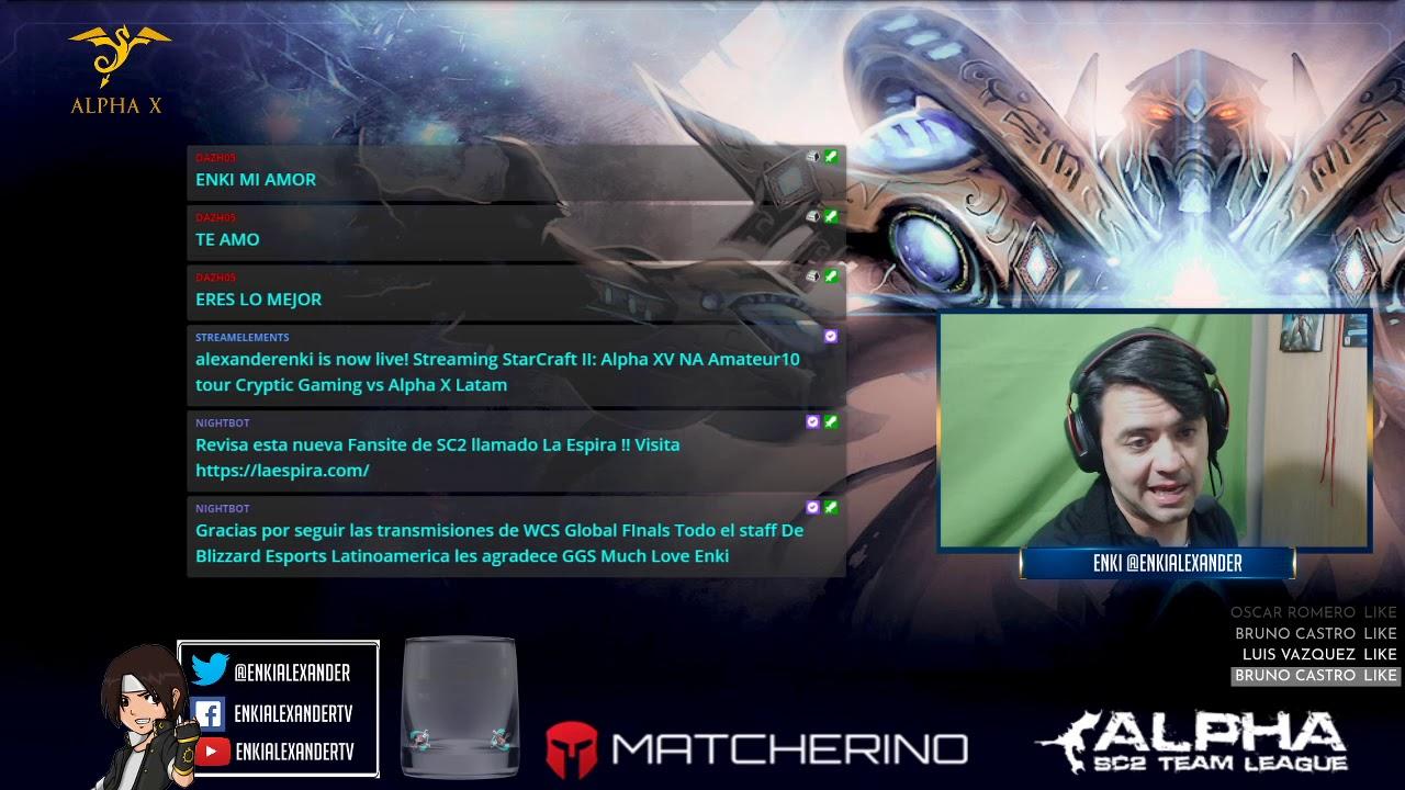 Alpha Xv Na Amateur 10 Tour Cryptic Gaming Vs Alpha X Latam Youtube