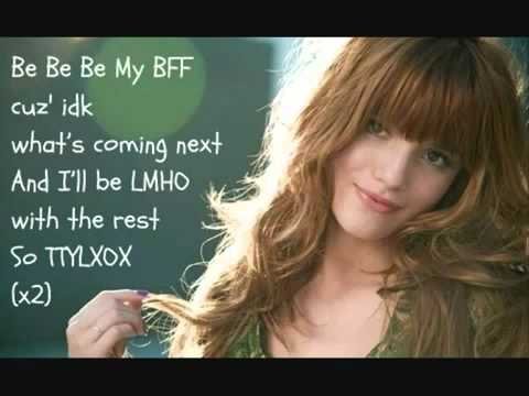 Bella Thorne - TTYLXOX  Instrumental