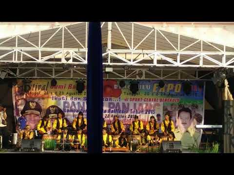 Festival Bumi Rafflesia Bengkulu expo 2015 Sanggar Seni Semarak Persada (S3P) Kota Bengkulu