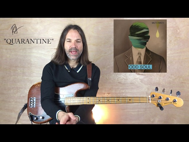 Quarantine Bass Tutorial | MUTEMATH | How to Play Bass