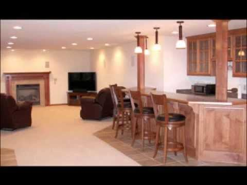 basement rec room decor ideas youtube