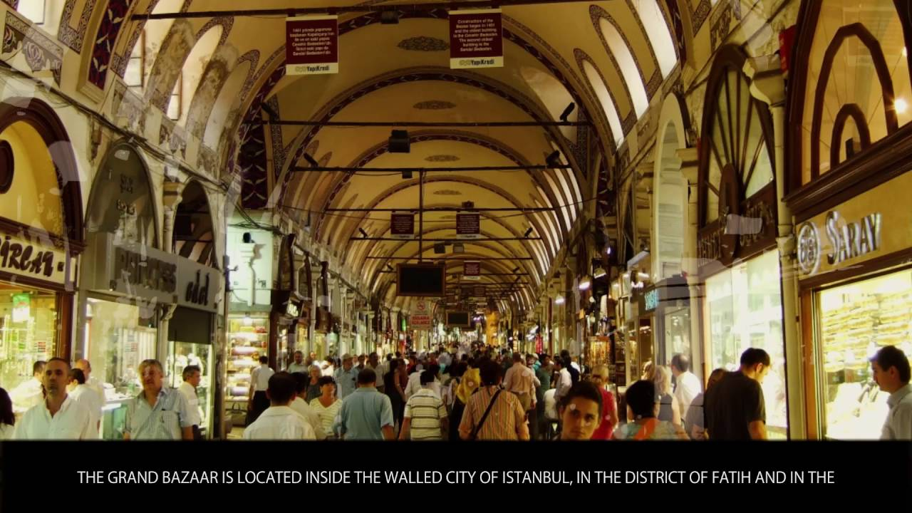 Grand Bazaar Istanbul Tourist Attractions Wiki Videos by
