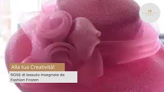 Gambar cover ROSE di tessuto insegnate da Fashion Frozen stilista online
