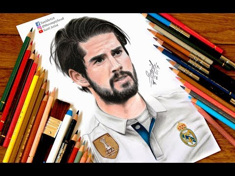 Drawing Isco ..... Real Madrid