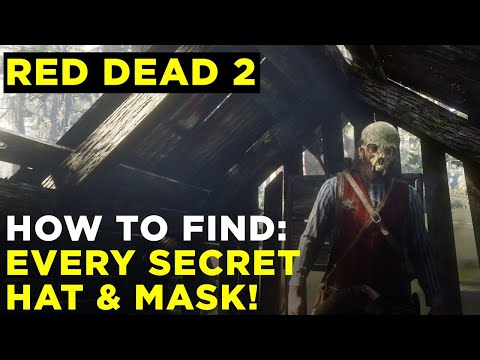 How to find every secret hat and mask in Red Dead Redemption 2