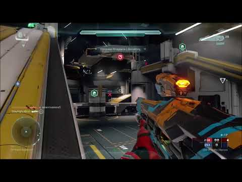 Halo 5: Dying Star Gameplay