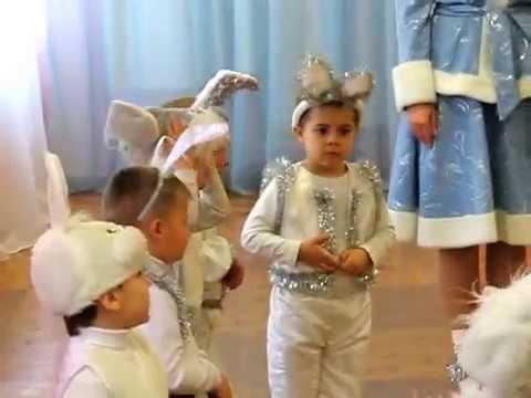 На полянке зайки танцевали - Танец Зайчиков