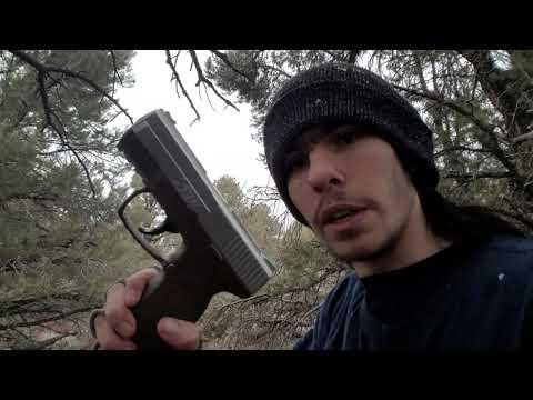 Cheap Walmart BB Pistol Shooting Test