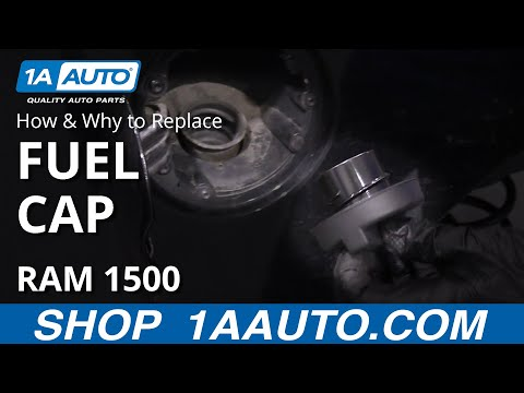 How to Replace Gas Cap 2011-16 Ram 1500 Truck