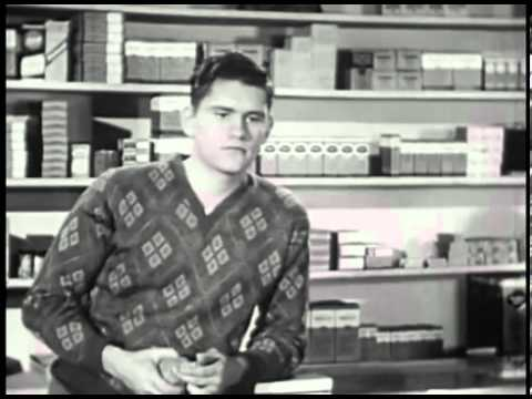 What Makes People Popular  Shyness Social Guidance Film  Dick York as the Shy Guy 1947