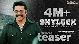 Shylock Official Teaser | Mammootty | Ajai Vasudev | Gopi Sundar | Goodwill Entertainments