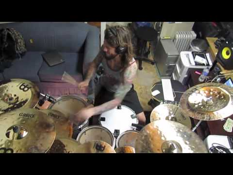 "Whitechapel's Ben Harclerode performs ""Hate Creation"""