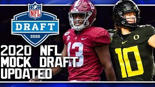 FULL First Round 2020 NFL Mock Draft | Justin Herbert or Tua Tagovailoa?