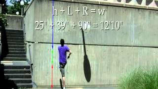 Parkour Science #2 Physics of the Vertical Wall Run- Tutorial