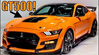 Chief Engineer Explains 2020 Shelby GT500 HP Numbers: What You Need To Know!