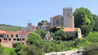 Esparron-de-Verdon, Alpes-de-Haute-Provence, Provence-Alpes-Côte d'Azur, France [HD] (videoturysta)