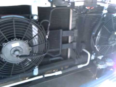Dual Electric Fans 2006 Ram Youtube