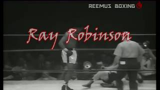Sugar Ray Robinson - Break Down The Opponent, Set Up The KO (Art of Boxing Pt 1)