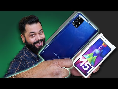 Samsung Galaxy M51 Unboxing & First Impressions ⚡⚡⚡ Amazing Display,Monster Battery & More
