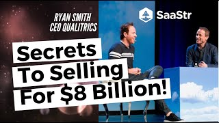 The Things Nobody Tells You About An $8B Acquisition with Ryan Smith from Qualtrics