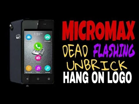 Micromax D303 Or D304 HANG ON LOGO | DEAD SOLUTION | FLASHING | UNBRICK