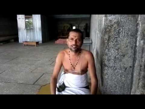 India - Priest tell about History on Kanipakam Varasidhi Vinayaka Swamy (Ganesh) and near by temples