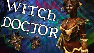 Skyrim Builds - The Witch Doctor