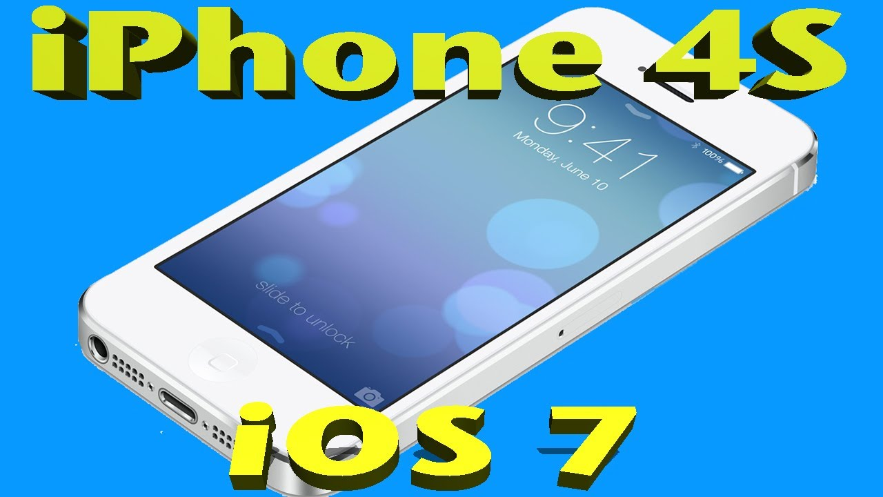iOS 7 on the iPhone 4S - PERFORMANCE REVIEW - YouTube
