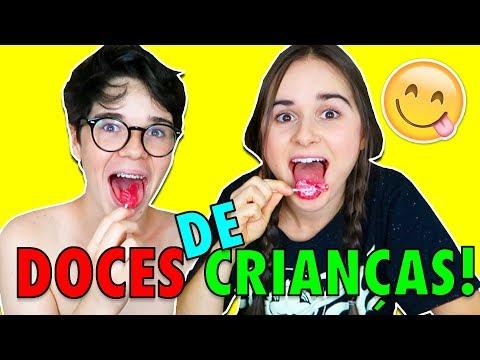 EXPERIMENTANDO DOCES DE CRIANÇAS!!! 😱 (3)