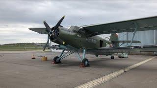 Antonov An2 Rundflug von LUX