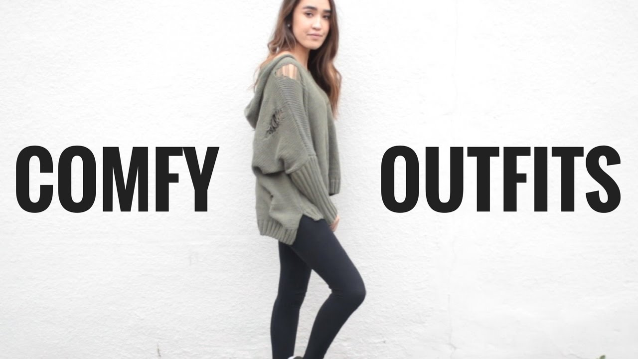 Lazy Day Outfit Ideas For School Comfortable Outfits Youtube