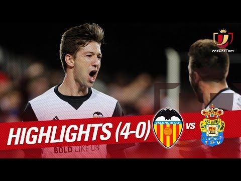 Resumen de Valencia CF vs UD Las Palmas (4-0)