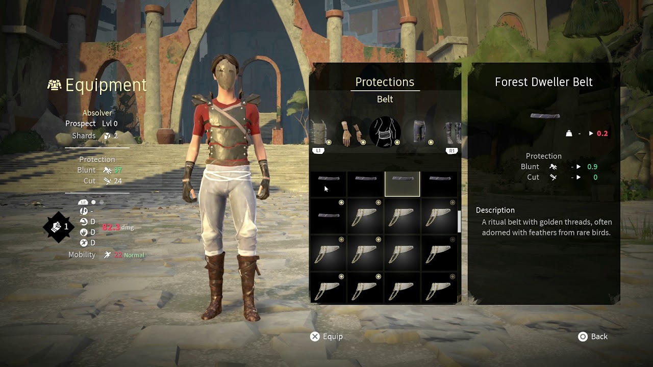 Absolver [PS4/XOne/PC] Character Customization