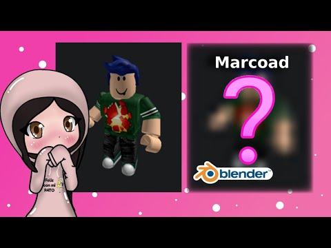 Personaje de roblox en blender || Avatar para Marcoad || #semana100% thumbnail