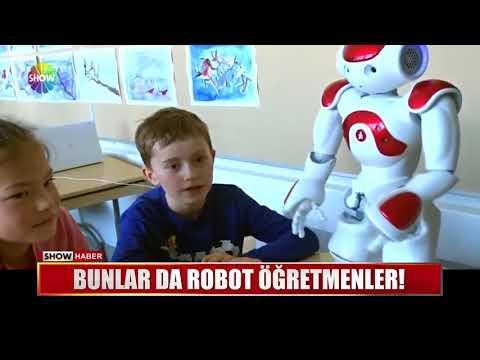 Bunlar Da Robot öğretmenler!