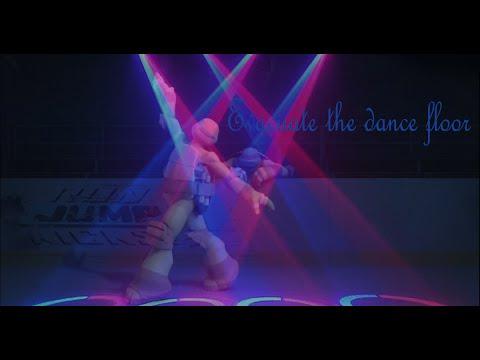 TMNT 2012~Mikey~Evacuate the dance floor