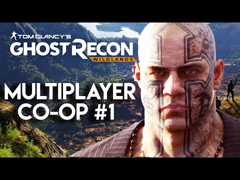 Ghost Recon Wildlands Gameplay #1 - Multiplayer Co-Op (PS4 Pro 60fps)