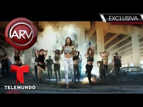 Anahí estrena video musical del tema Rumba junto a Wisín   Al Rojo Vivo   Telemundo