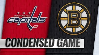 01/10/19 Condensed Game: Capitals @ Bruins