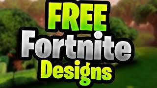 FREE FORTNITE DESIGNS | FREE DESIGNS | ryznGraphics