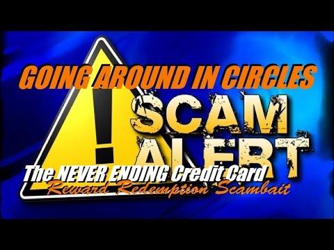The NEVER ENDING Credit Card: Reward Redemption Scambait