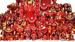 Hulkbuster & Iron Man Collections! Defeat Thanos! Avengers Go~! Hulk, Thor, Spider-Man Toys Play