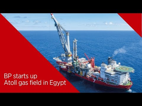 BP Starts Up Production in Egypt's Atoll Gas Field