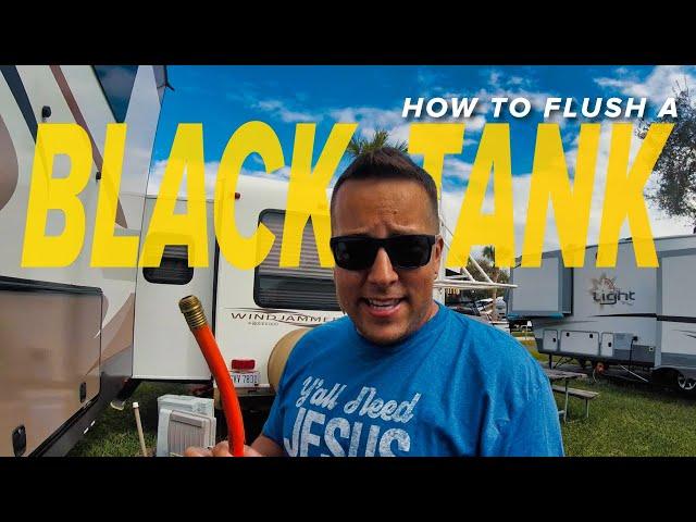 RV Black Tank Flush