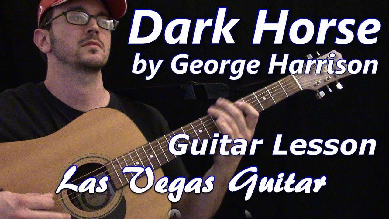Dark horse by george harrison guitar lesson youtube dark horse by george harrison guitar lesson hexwebz Image collections