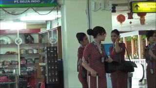 Deaprtures Area, Manado International Airport, North Sulawesi, Indonesia