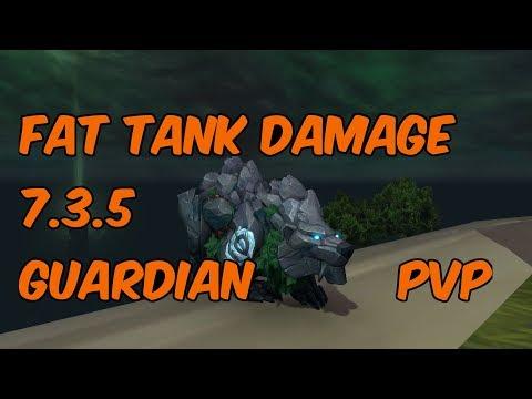 FAT TANK DAMAGE - 7.3.5 Guardian Druid PvP - WoW Legion