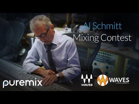 Al Schmitt Pro Member Mixing Contest Waves sponsor ft. Cyrille Aimée