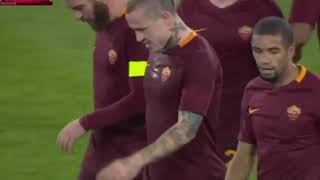 Nainggolan s super strike   Roma vs Sampdoria 01 19 17 Coppa Italia
