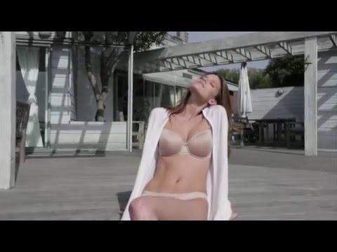 Kim Cloutier in Chantelle Paris Lingerie Spring Summer 2016 Invisibles